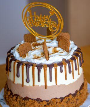 Biscoff Birthday Cake